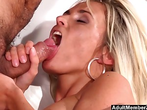 Asslicking And Fucking His Blonde Cut up